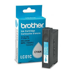 Tinteiro cião - Brother LC-01C