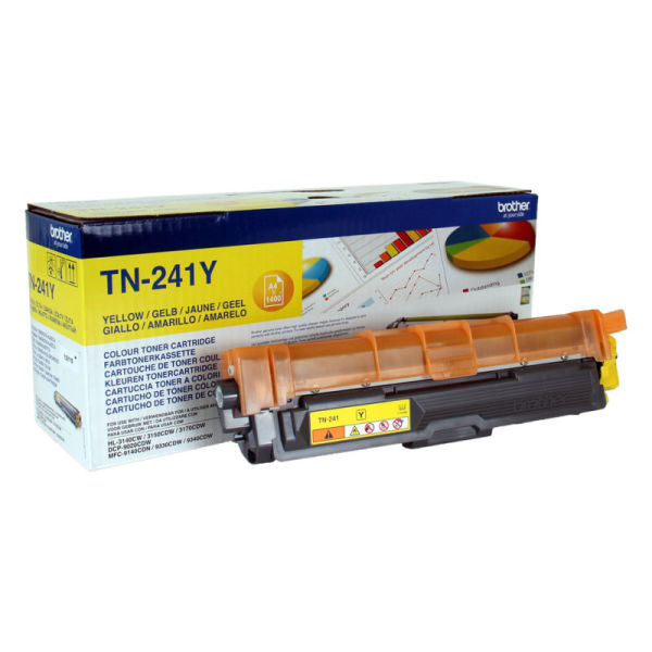 Toner Amarelo - Brother TN-241Y