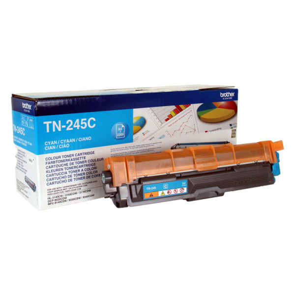 Toner Cião/Azul - Brother TN-245C