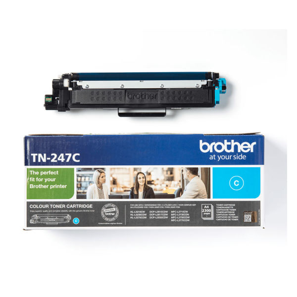 Toner cião de alta capacidade - Brother TN-247C