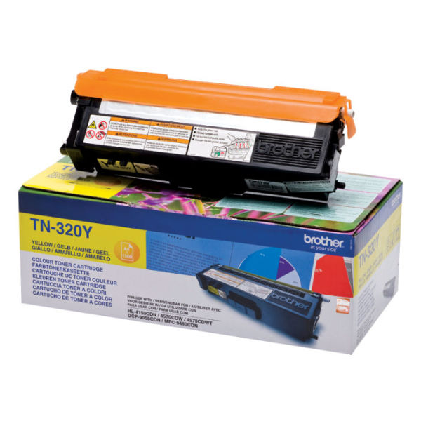 Toner Amarelo - Brother TN-320Y