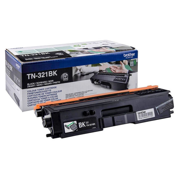 Toner Preto - Brother TN-321BK