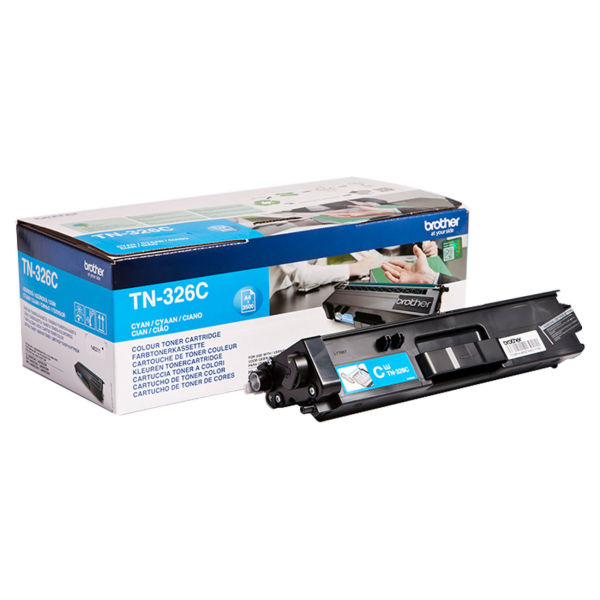 Toner Cião/Azul - Brother TN-326C