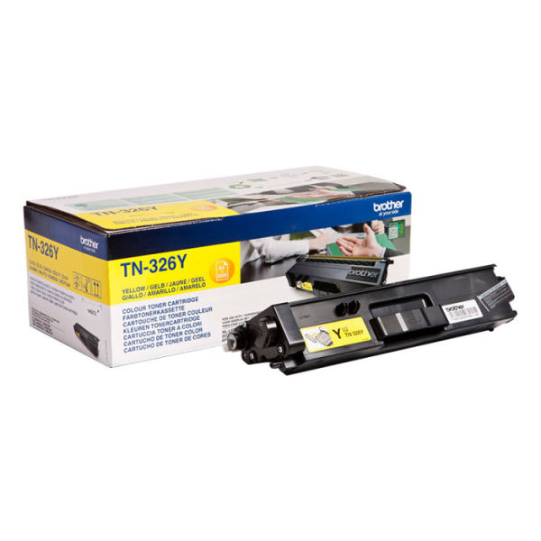 Toner Amarelo - Brother TN-326Y