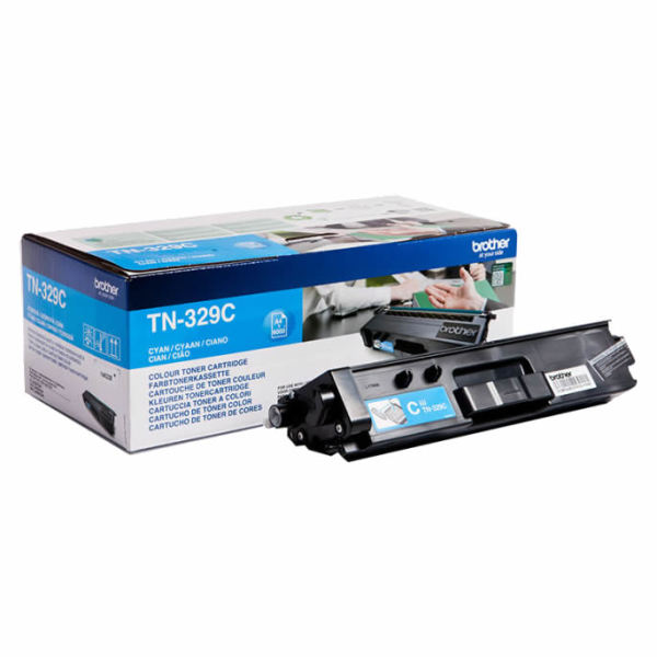 Toner Cião/Azul - Brother TN-329C