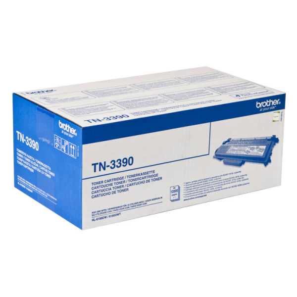Toner Preto - Brother TN-3390