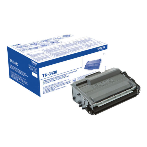 Toner Preto - Brother TN-3430