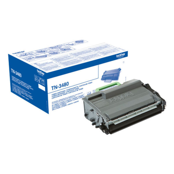 Toner Preto - Brother TN-3480
