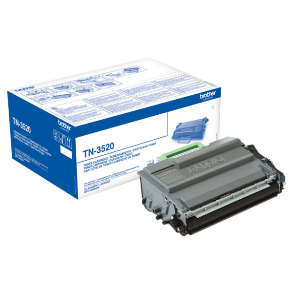 Toner Preto - Brother TN-3520