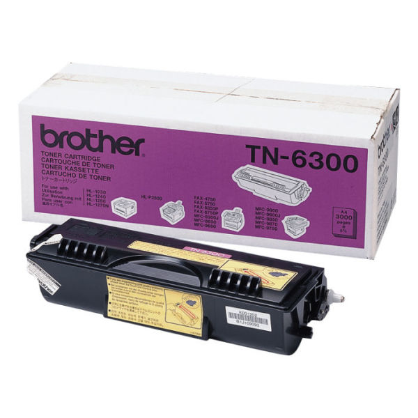 Toner Preto - Brother TN-6300