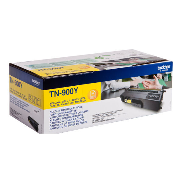 Toner Amarelo - Brother TN-900Y